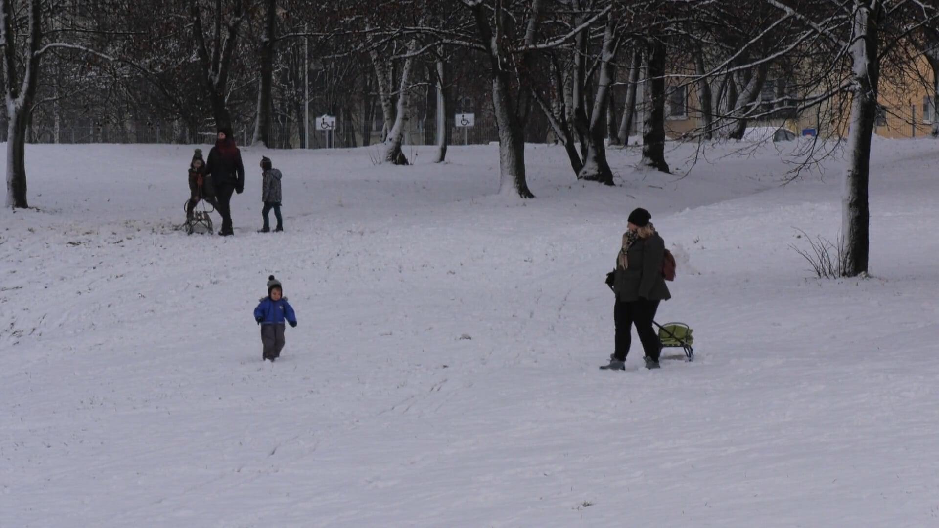 Zima zawitała na kilka dni