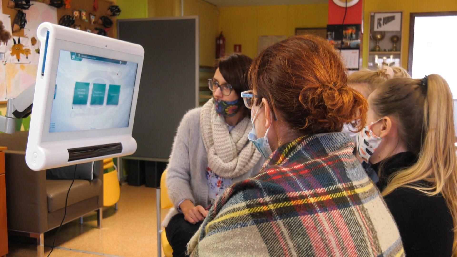 Cyber-oko pozwala chorym na komunikację