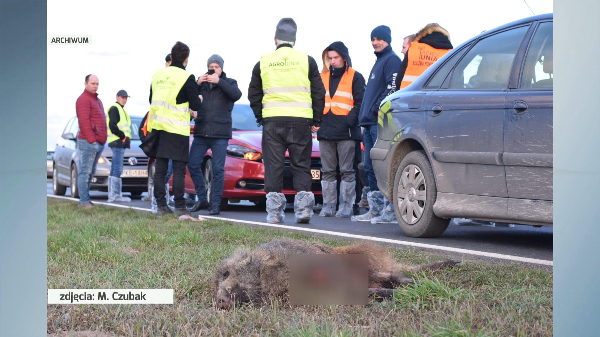 Bez kary za blokowanie drogi w Nochowie