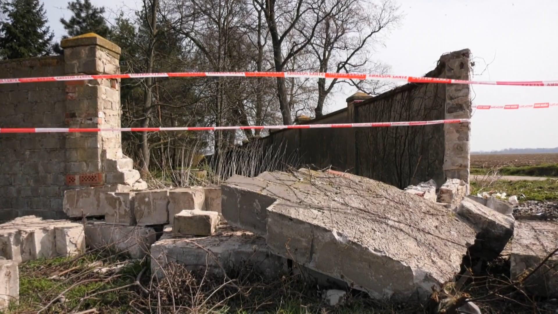 Niebezpieczny zakręt w Grabianowie. Kolejny śmiertelny wypadek w ostatnich latach