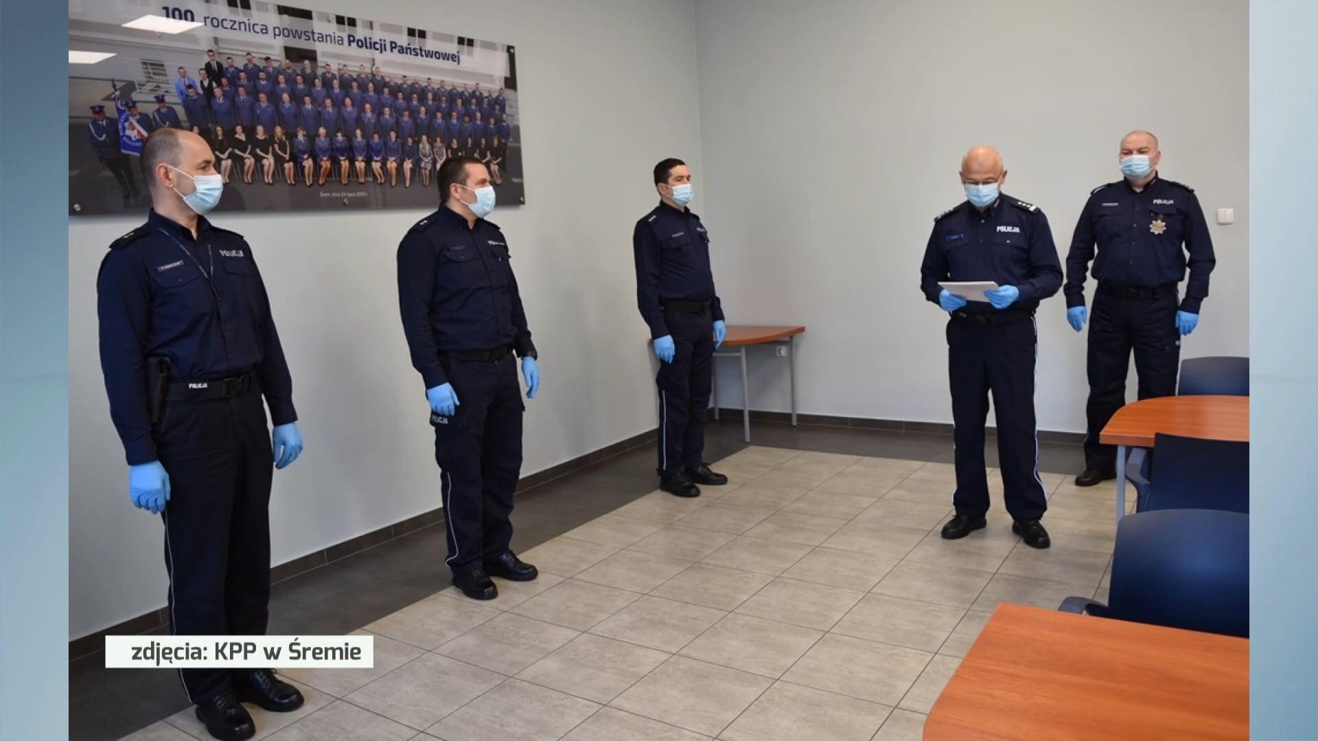 Zmiany kadrowe w śremskiej Policji