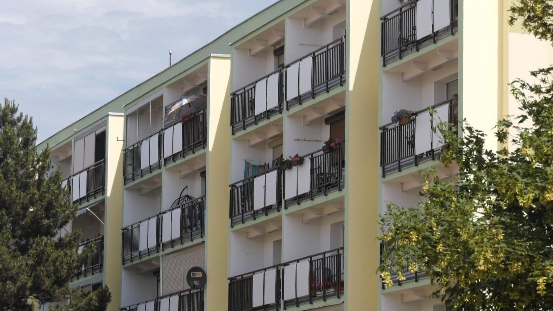 Balkony po remoncie. Pozostał ostatni etap