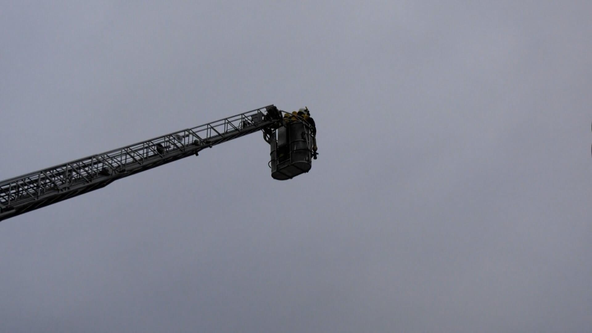 Alarm w Leopolu. Na miejscu 6 strażackich zastępów